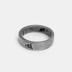 Bird Icon Silver Ring