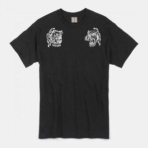 Angry Animals T-Shirts black/white