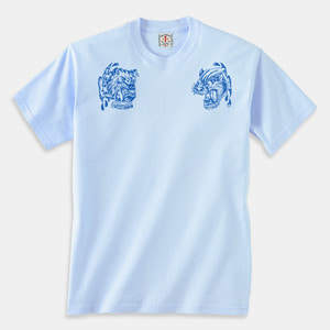 Angry Animals T-Shirts light blue