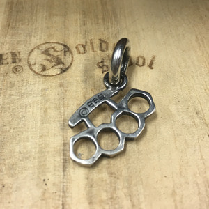 Silver Knuckle Pendant small