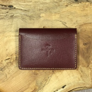 [IN STOCK] 575 #074 LTD Card Holder Burgundy