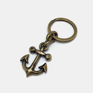 Anchor Brass Key Holder