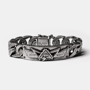 Original Eye Thunder Full Silver Bracelet